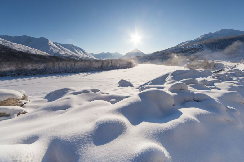 The coldest place in the world: Oymyakon