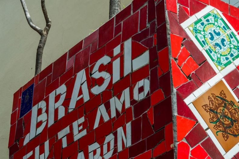 The Selaron Steps in Rio de Janeiro – the address of a colorful story