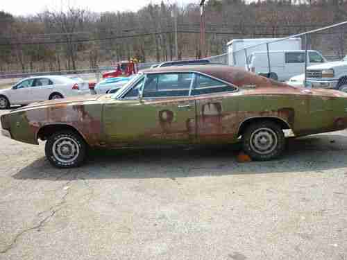 Find Used 1968 Dodge Charger Rolling Chassis Project Car