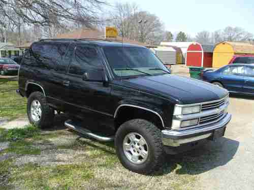 Chevy Lift Tahoe Inch 2 1999