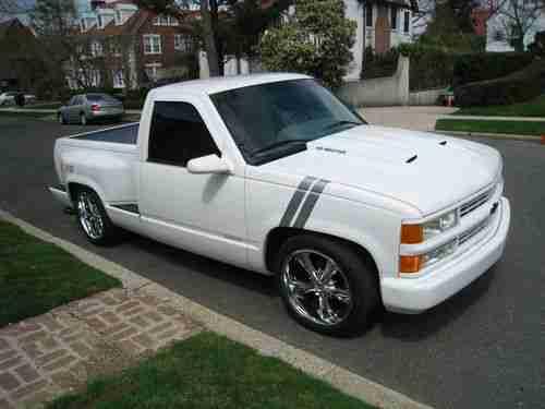 Sell Used 1995 Chevrolet Silverado SS 1500 CK Pickup