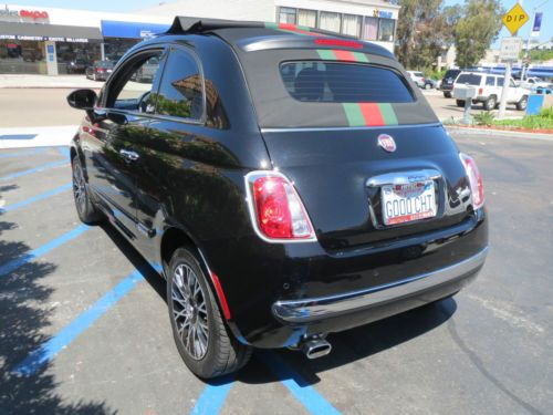 500c Gucci Convertible Fiat 2012