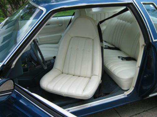 Buy Used 1976 Chevrolet Monte Carlo 15500 Mile Vehicle
