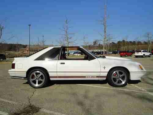 1984 Mustang 20th Anniversary