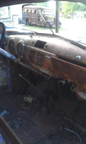 Find Used 1953 Chevy Truck Rat Rod Chopped Top In