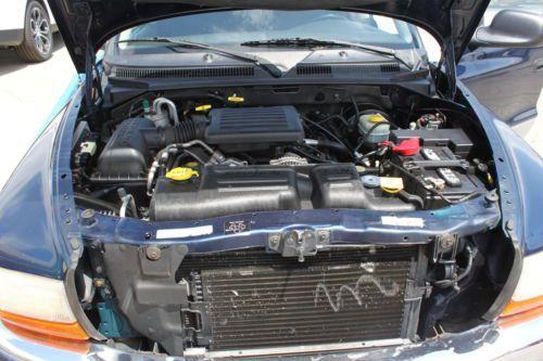 Sell Used 2001 01 Dodge Dakota 4x4 Quad Cab 4 7l V8 4x4