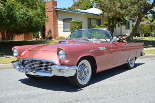 Buy Used 1957 Ford Thunderbird Convertible In Inglewood