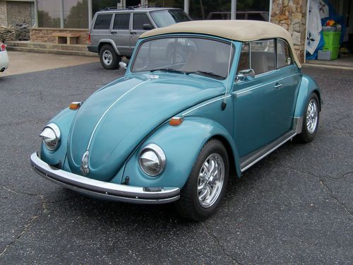1968 Volkswagen Beetle Convertible Colors
