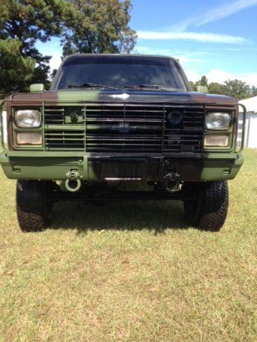 Purchase Used Chevrolet Blazer M Cucv In Wetumpka