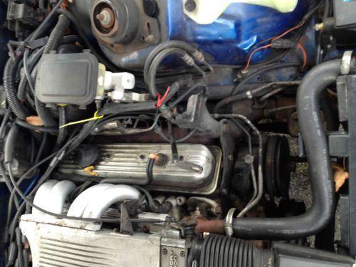 Find Used Pontiac Firebird Original L98 Engine 350