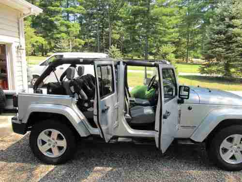 Sell Used 2008 Jeep Wrangler Unlimited Sahara 4x4 In