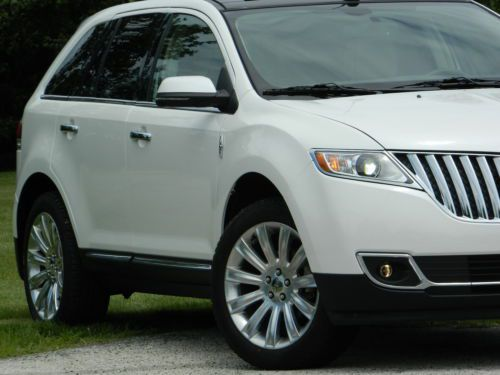 Sell Used 2011 2012 2013 Lincoln Mkx Limited Awd Navi Sync