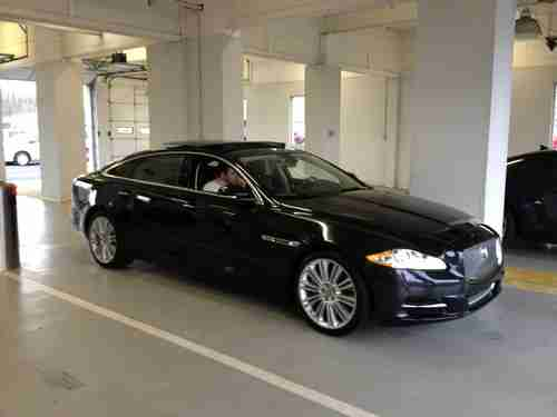 Purchase Used 2012 Jaguar Xjl Supercharged 500 Hp Black