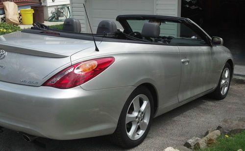 Buy Used Toyota Solara Sle Convertible 2 Door 3 3l