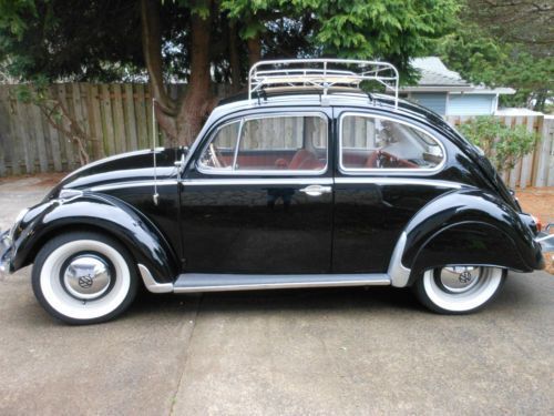 Purchase used Classic 1965 Volkswagen Beetle Type 1 with Hazet tool     Classic 1965 Volkswagen Beetle Type 1 with Hazet tool kit and rare gas  heater