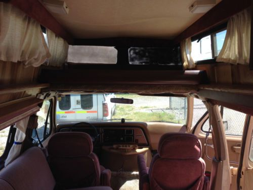 Buy Used 1985 Ford Falcon Conversion Motorhome RV In