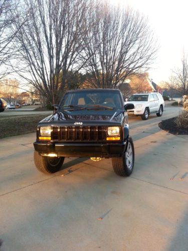 Find Used 2001 Custom Lifted Jeep Cherokee With 18 Inch