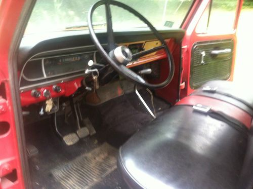 Purchase Used 1969 Ford F100 Pick Up Truck In Danville