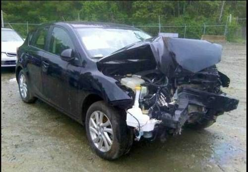 Buy Used Mazda 3 2012 After Accident In Chicago Illinois