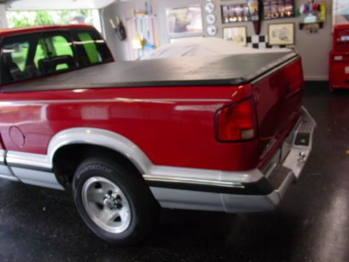 Find Used Chevy S 10 Extended Cab Fleetside Pickup In