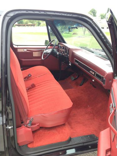 Purchase Used Black Truck GMC Chevy Stepside 1983 C10 In