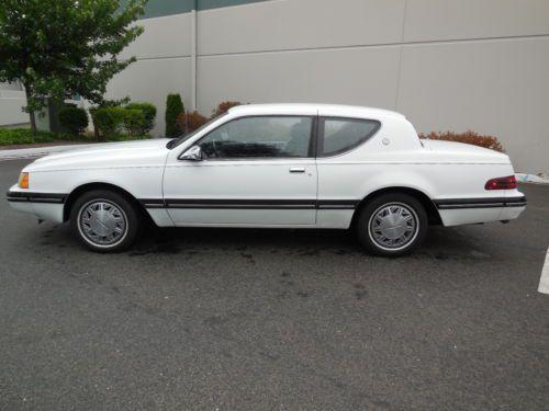 Purchase Used 1988 Mercury Cougar LS Sedan 2 Door 50L 1