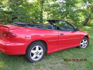 Buy used 2000 Chevrolet Cavalier Z24 Convertible 2Door 2