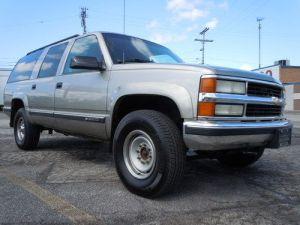 Find used 1999 Chevrolet Suburban 2500 LT 4x4 74L 454 ci