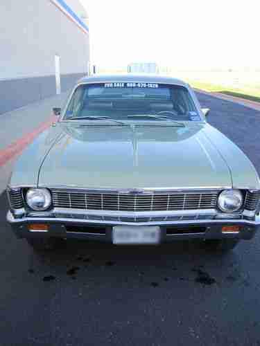 Find Used 1969 Chevrolet Nova Base Sedan 4 Door 5 7l In