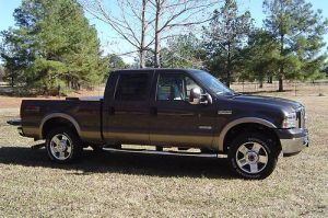 Find used 2006 ford f250 crewcab 4wd lariat in Gray