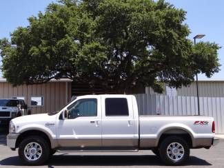 Find Used 2005 White King Ranch Fx4 6 8l V10 4x4 Heated