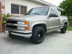 Find used 98 silverado short bed step side V8 in Alva