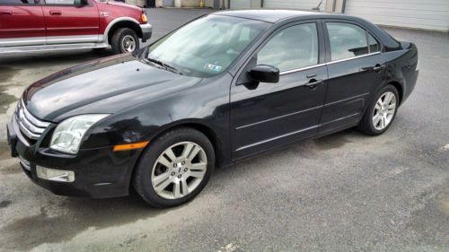 Buy Used 2009 FORD FUSION SEL V6 AWD BLACK In Mount Joy