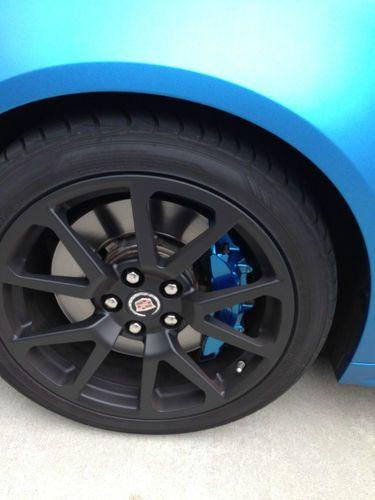 Sell Used 2011 Cadillac CTS V Sedan 4 Door 62L Blue Mate