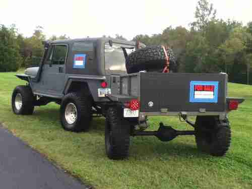 Sell Used 1993 Jeep Wrangler And Off Road Trailer In