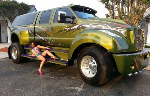 Find Used Ford F350 Converted To F650 In Fayetteville