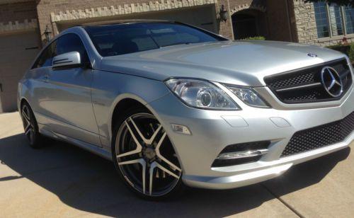 Purchase Used 2012 Mercedes E550 Coupe E Class W207 C207