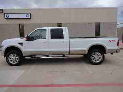 Purchase Used 2008 Ford F350 King Ranch Crew Cab Long Bed