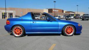 Purchase used 94 Honda Civic Del Sol Si w BUILT 125:1