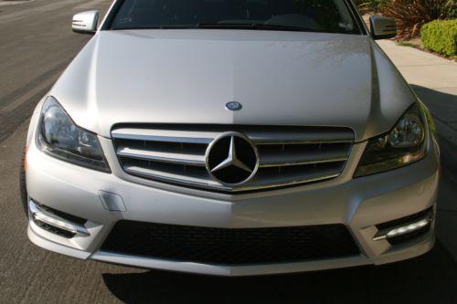 Purchase Used 2012 Mercedes C250 Sport Aluminum Trim Sport