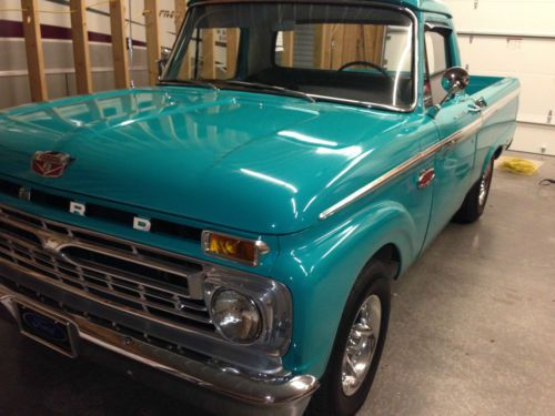 1966 Ford F100 2x4 Lowered Long Bed