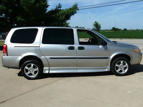 Sell Used Chevy Uplander Handicap Wheelchair Van 1