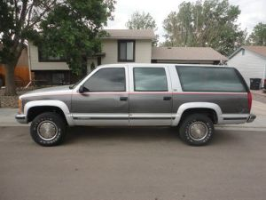Buy used 1993 Chevy Suburban 2500 4x4 4wd 454 in Colorado