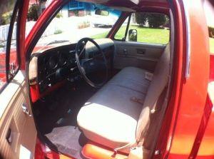 Buy used Chevrolet: 1978 Chevy C10 Custom Deluxe Orange