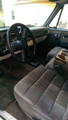 Buy Used 1990 Chevy Blazer K5 In Arnold Maryland United