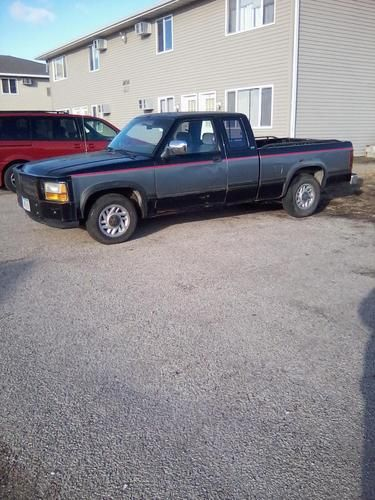 1992 Dodge Dakota Chopped Truck Pic