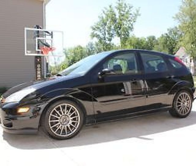 Made 2004 Ford Focus Svt Zx 5 Eap Very Rare