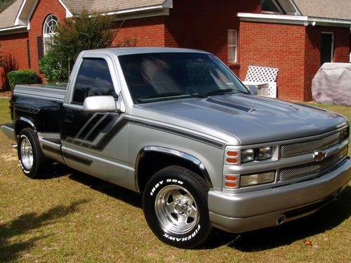 C1500 Black Truck Chevy Custom Pickup