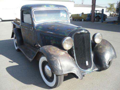 Buy New 1935 Dodge Pick Up Truck Rare Hot Rod Custom