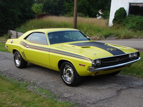 Purchase Used 1971 Dodge Challenger R T 440 Curious Yellow